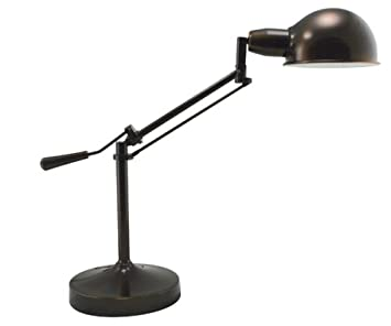 Verilux Brookfield Natural Spectrum Desk Lamp, All Metal Apothecary Lamp  Inspired Design And Adjustable Head