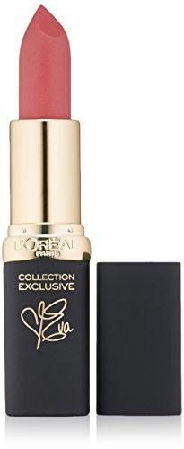 L'Oreal Paris Cosmetics Colour Riche Lip Collection Exclusive Lipstick, Eva's Pink, 0.13 Ounce