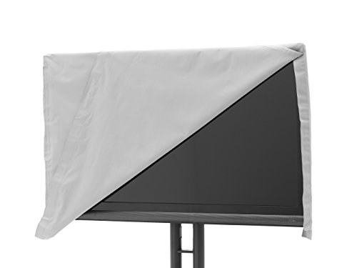 (Covermates - Outdoor TV Cover - Fits 50 to 54 Inch TV's - Ultima - 300 Denier Fade Resistant Polyester - Full Coverage - Front Flip Top for Quick Viewing - 7 Year Warranty - Water Resistant - Grey)