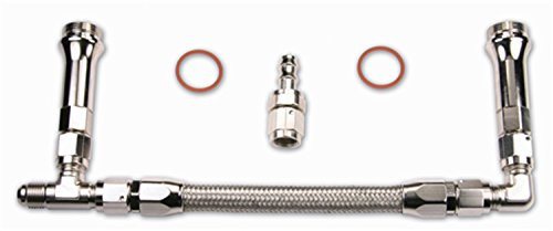Quick Fuel Technology 34-6000SS Stainless Steel Dual Feed Fuel Line ()
