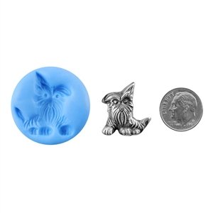 (Cool Tools - Antique Mold - Perky Terrier)