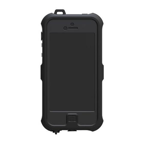 Bolkin Waterproof Case Cover for Apple Iphone 5 / 5s - shockproof dustproof (Black) (Viewfinder Series 3)