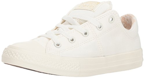Converse Girls' Chuck Taylor All Star Madison Sneaker, Bone, 4 M US Big Kid -
