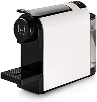 Lui Espresso Lux Blanca - Cafetera expreso de monodosis (funciona ...