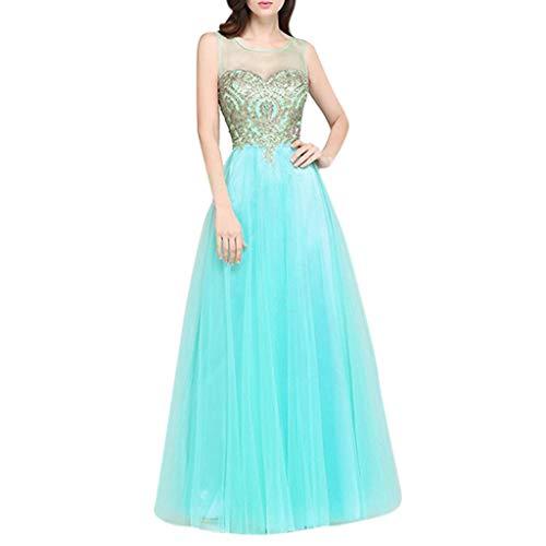 Maxi Dresses Women Long Evening Prom Dress Formal Party Ball Gown Bridesmaid Mermaid Beaded Dress Green
