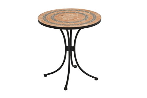 Terra Cotta Bistro Table - Home Styles 5603-34 Bistro Terra Cotta Tile Top Dining Table