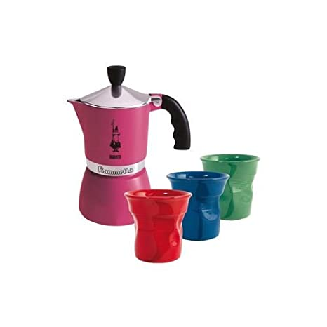 Amazon.com | Bialetti: Set Candy with Fiammetta Fuchsia (1 ...