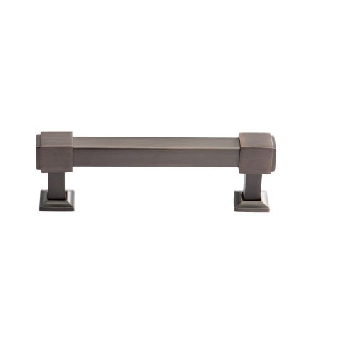 Southern Hills Oil Rubbed Bronze Drawer Pulls - 4 Inch Screw Spacing - Pack of 5 - Craftsman Style Kitchen Cabinet Handles SHKM010-ORB-5 by Southern Hills (Image #1)
