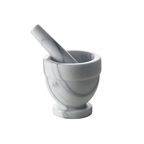 9 opinioni per Excelsa Mortaio con Pestello, Marmo, Diametro 10 cm, Bianco