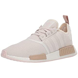 adidas Originals Women's NMD_r1 Sneaker, Chalk White/Chalk White/Supplier Colour 11 medium US