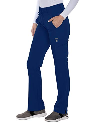 Grey's Anatomy Signature 2218 Trouser Cargo Pant Indigo S Tall (Best Scrubs For Athletic Build)