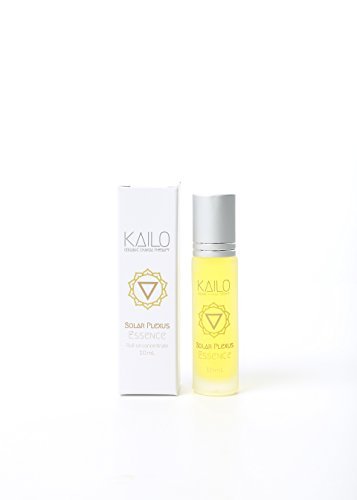 Kailo Organic Chakra Therapy - Solar Plexus Chakra Essence (aromatherapy + energy work roller)