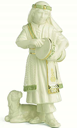 Lenox First Blessing Nativity Drummer boy with sheep. New edition (Nativity Lenox)