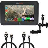 Atomos Ninja Blade 5'' HDMI On-Camera Monitor & Recorder, 7'' Articulating Magic Arm, Jumbl High-Speed HDMI to Micro HDMI (Type D) and Jumbl High-Speed HDMI-A to Mini HDMI-C Cable