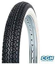 Motodak Reifen Cyclo 17  2 1/4 x 17 Mitas b4 Tt 39j - Flanke Weiß