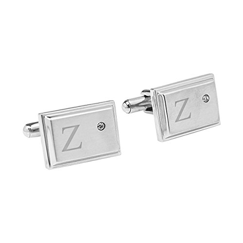 Cathys Concepts Personalized Zircon Stainless
