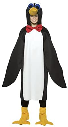 Penguin with Red Bow Tie Teen Kids size 13-16 Costume