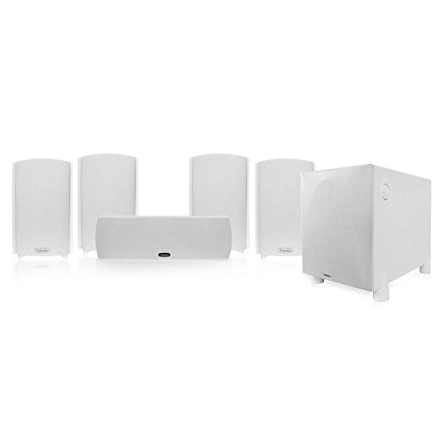 Definitive Technology ProCinema 800 5.1 Home Theater System (Gloss White) by Definitive Technology