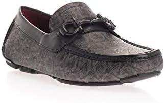 SALVATORE FERRAGAMO Luxury Fashion Homme 02B890 Noir Cuir Mocassins   Automne-Hiver 19