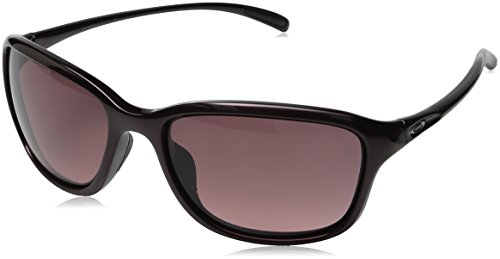 Oakley Women's She's Unstoppable Round Sunglasses, Raspberry Spritzer, 57 - Sunglasses Woman Oakley