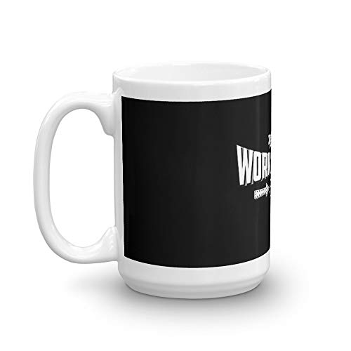 Work Husband Ever 15 Oz Ceramic Coffee Mug Also Makes A Great Tea Cup With Its Large, Easy to Grip C-handle. 15 Oz Fine Ceramic Mug With Flawless Glaze Finish -