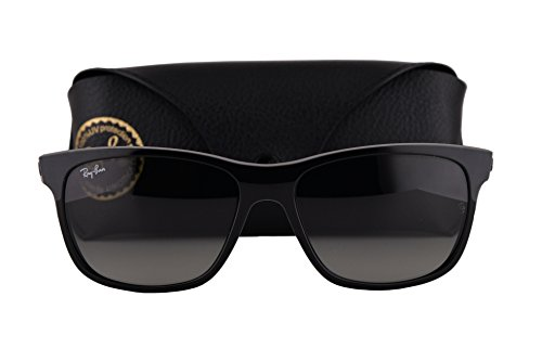 Ray Ban RB4181 Sunglasses Black w/Crystal Grey Gradient Azure Lens 60171 RB - Optical Sale Ray Glasses Ban