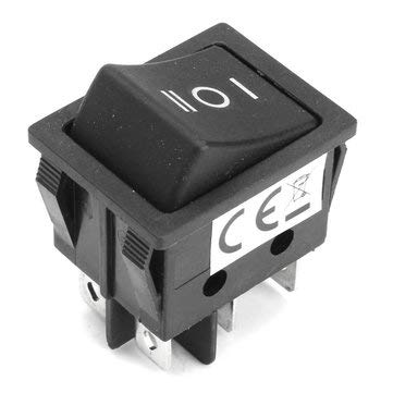 Forward Reverse Switch 3 Positions 6 Pin Switch Push Button Switch - 1 x Forward\/Reverse Switch for Tyco\/Power Wheels - Mechanical Parts Machinery -