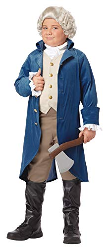 California Costumes George Washington/Thomas Jefferson/Alexander Hamilton and Colonial Child Costume, X-Large (Renewed) -