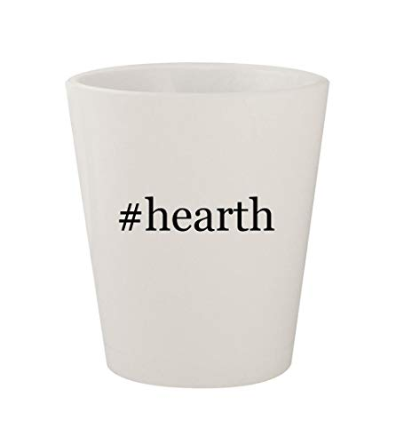 #hearth - Ceramic White Hashtag 1.5oz Shot Glass ()