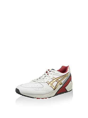 EU Zapatillas 5 Champán Roto Blanco 46 Gel Sight Asics SqRAPw
