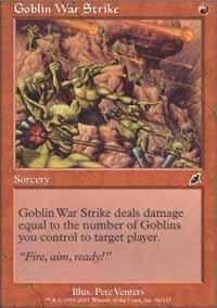 Magic: the Gathering - Goblin War Strike - Scourge