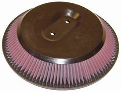 K&N ENGINEERING E-9233 Air Filter; Conical Closed; H-2.5 in.; ID-10.438 in.; OD-12.75 in./9.438 in.; Closed Top w/Inner Wire;