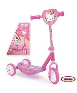 Amazon.com: Hello Kitty Wide Ride Tri-Scooter – Rosa ...