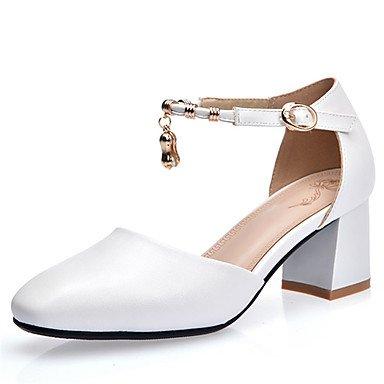 Zormey Zapatos De Mujer Chunky Talón Tobillo Toe Cuadrados Bombear Más Colores Disponibles US7.5 / EU38 / UK5.5 / CN38
