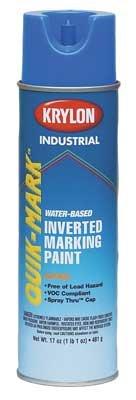Krylon Inverted Marking Paint - Krylon Inverted Marking Paint Blue 12/BX #S03903