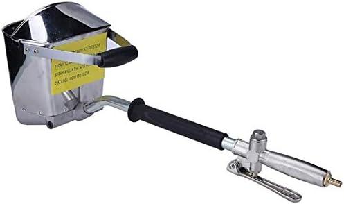 Kacsoo Pistola de aspersi/ón de cemento con 4 chorros de yeso y estuco con cubierta para pintar pared o techos herramienta DIY