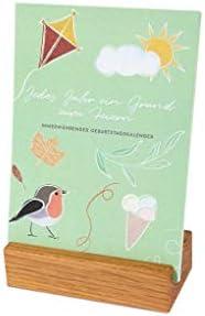 klotzaufklotz Geburtstagskalender, geka-ei-FBM, 1 Stück