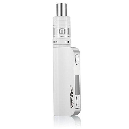 VaporStorm, Sigaretta Elettronica V50 TC Kit, bianco