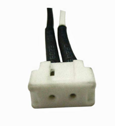 LVS18 Halogen Lamp Socket For G4 Bi-PIn Halogen Bulbs With 18 High Temperature Wire Leads
