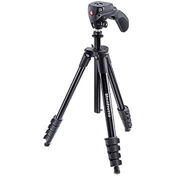 Manfrotto MKCOMPACTACN-BK Digital/film cameras Black tripod