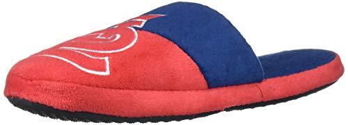 FOCO MLB St. Louis Cardinals Unisex Colorblock Slide SLIPPERCOLORBLOCK Slide Slipper, Team Color, L
