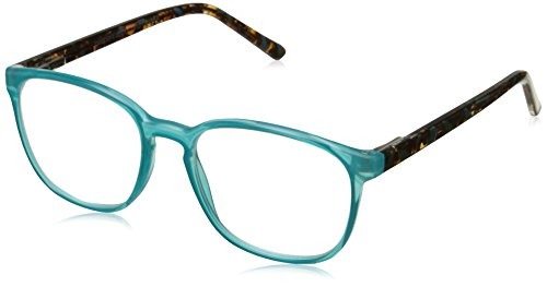 Peepers Women's Indian Summer 2262275 Oval Reading Glasses, Teal, 2.75 (Indian Glass Oval)