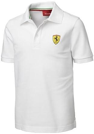 ferrari countings polo shirt paris collar shirts