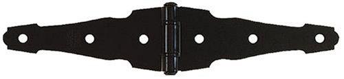 (Stanley Hardware S827-527 SP903 Decorative Heavy Strap Hinge in Black)