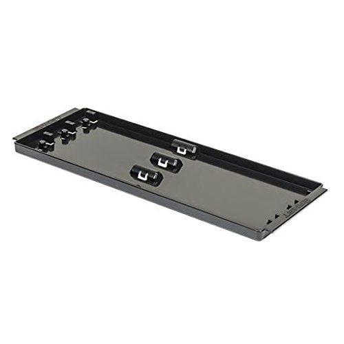 Ernst Manufacturing Socket Boss 3-Rail Tray, 13-Inch, Black