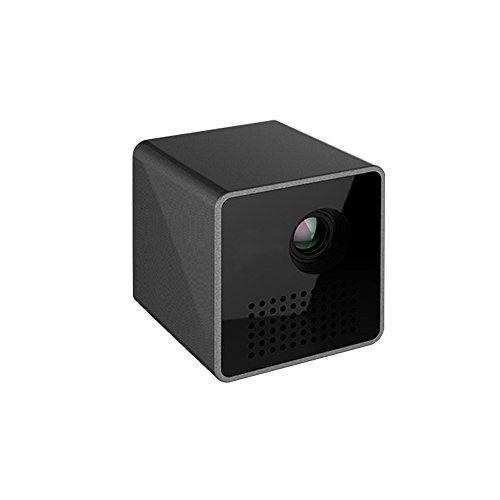 HIOTECH Mini Projector P1 DLP Projector Full HD 1080P 3D Projector LED Mini Pico Projector Best Home Cinema Theater Beamer Only 200G by HIOTECH