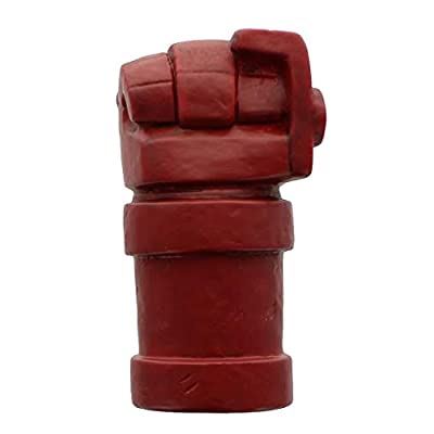 Zak Designs Hellboy Right Hand of Doom Ceramic Money Bank Lootcrate Exclusive: Toys & Games