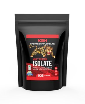 Whey Protein Isolate - Low Carb - Low Fat - Low Sugar - Vanilla 1kg - Free Shipping Within Australia. #1 Tasting Protein Powder in Australia - Our First 150 - Shipping Within Free Australia