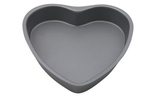 Swift Faringdon Collection Bakers Pride Non-Stick Heart Shape Cake Pan Carbon Steel 19 cm x 19 cm x 3.5 cm - Faringdon Collection Bakers