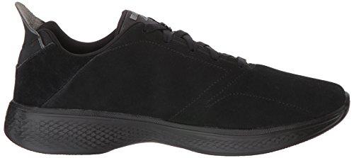 Go Sneaker 4 Damen Black Walk Schwarz BBK Skechers vfSq7I